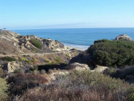 San Clemente Campsite - The Trail Leading Down To The Beach