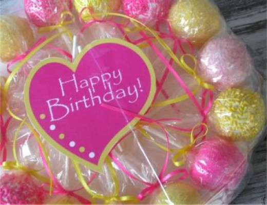 Cake Pops For Birthdays