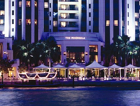 The Peninsula Hotel Bangkok with 5 star service and quality.