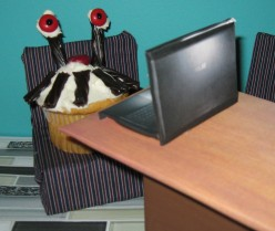 The Cupcake's Winter Holiday: Beware of Bats