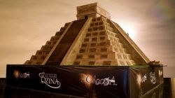 Chocolate Mayan Temple Breaks Guinness Record
