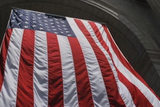 US Flag by Peter Griffin (Publicdomainpictures.net)