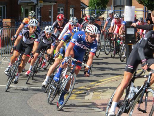 Road Racing Cyclists