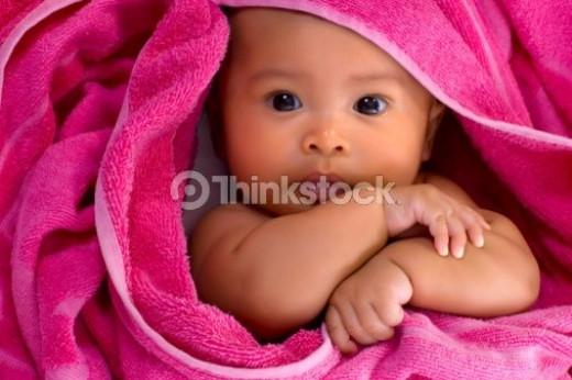 Babies in Need - Baby Girl Pink Towel