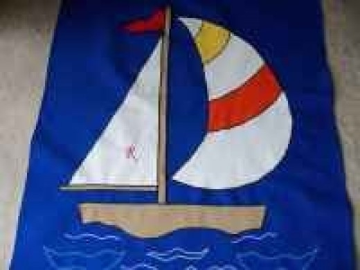 Flags for fun - Sailboat