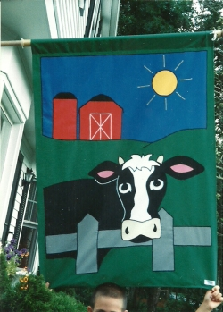 flags for fun - cow