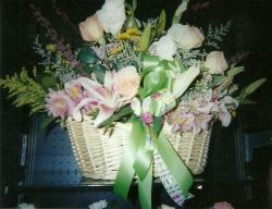 Unique Flowers - Basket