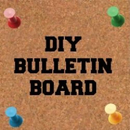 Make your own bulletin board for Make your own bulletin board ideas