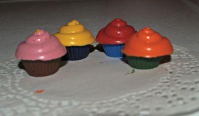 Fresh Baked Cupcake Crayons