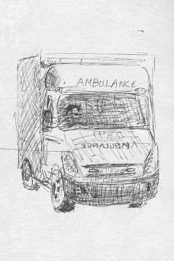 ©2009 Cathy Read Ambulance in Well Street