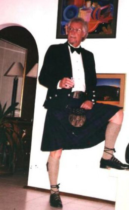 the proud Scotsman