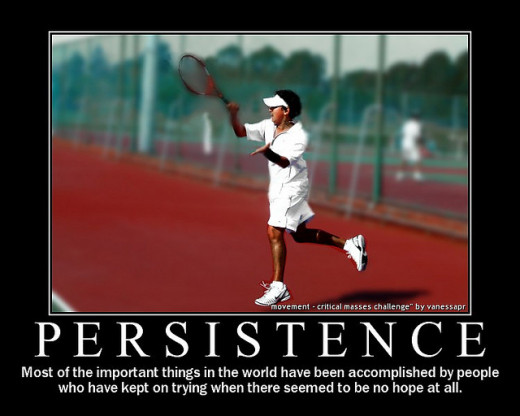 Persistence - Keep Doing Your Best