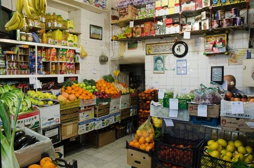Supermarket - Grocery Store - Fruits and vegetables - Food
