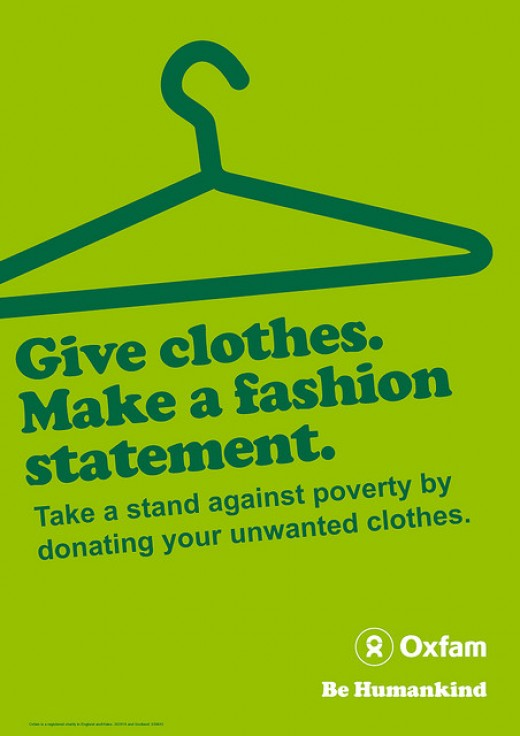 Give Clothes - Oxfam