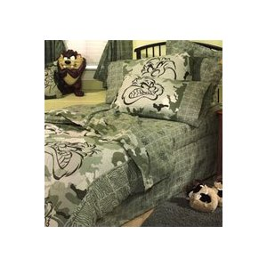 TAZ Camouflage Bed Set