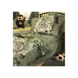 TAZ Camouflage Bed Set
