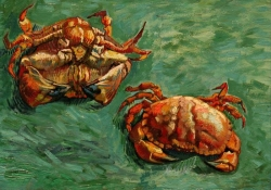 two crabs Vincent van Gogh