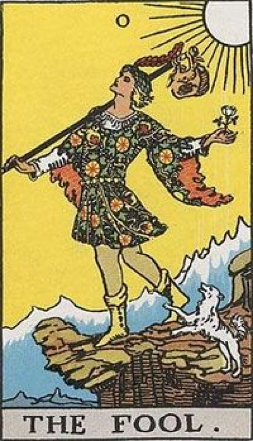The fool the Major Arcana secret tarot
