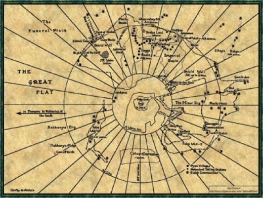 The map of Dune