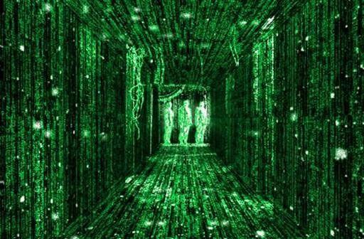 The Matrix cyberpunk sci-fi