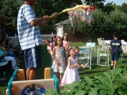 7th backyard birthday party