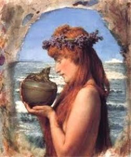 Pandora, by Sir Lawrence Alma-Tadema (1836-1912)