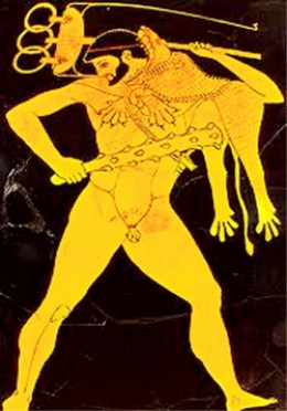 Herakles and Apollo's Tripod