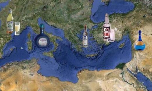 ouzo mediterranean drinks