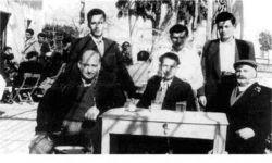 greeks drinking ouzo