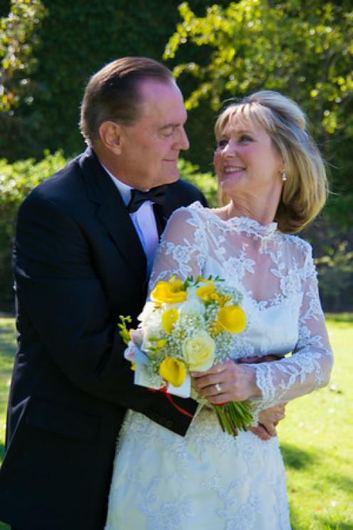 Happy Bride and Even Happier Groom.