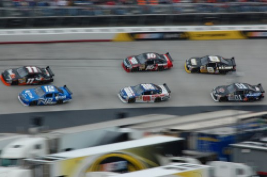 NASCAR Race used under Creative Commons.