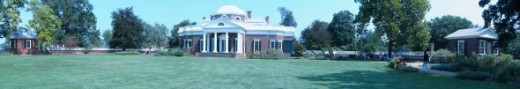 Monticello Panoramic Photo
