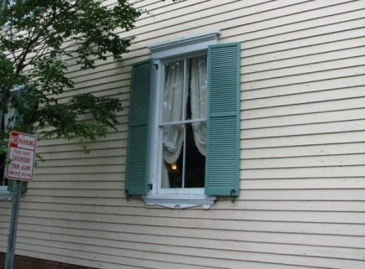 Sears and Roebuck House Window Savannah GA