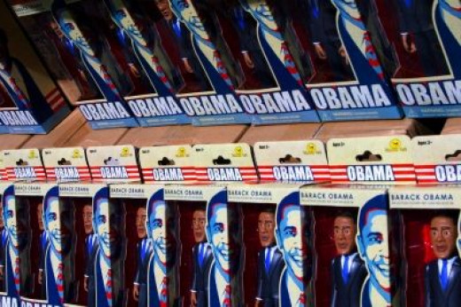 Obama action figure - Photo © zenobia_joy