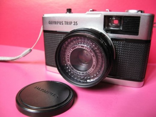 Olympus trip 35 with black shutter  ©   art_ura