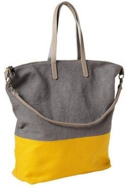 Gap Colorblock Canvas Tote