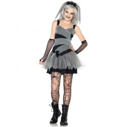 Dearly Departed Bride Teen Costume