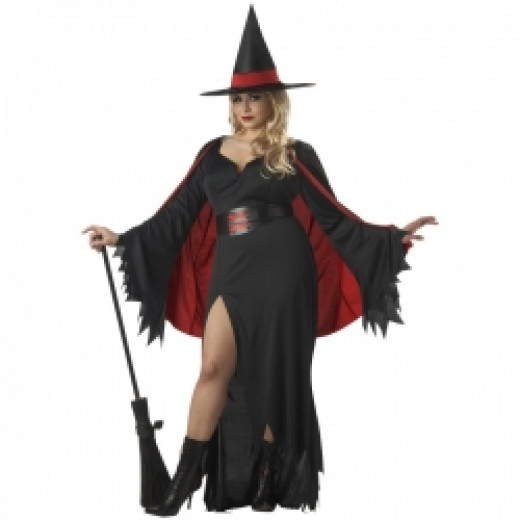 Scarlet Witch Plus Costume