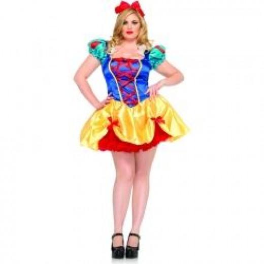 Fairy Tale Snow White Plus Costume