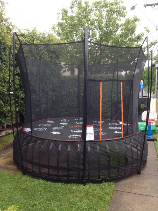 The Vuly Thunder Trampoline - large size