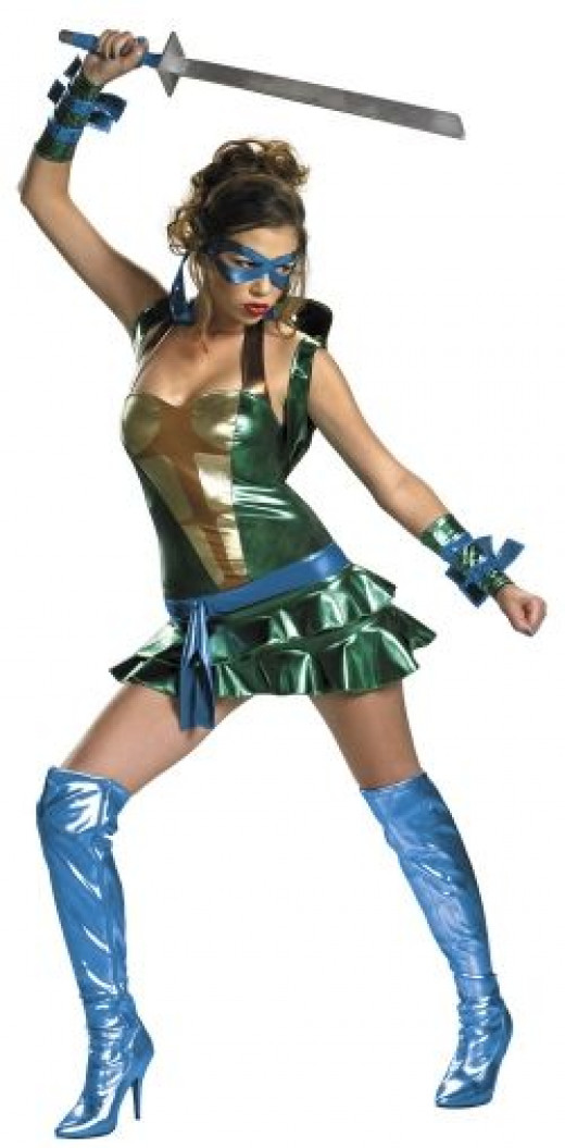 Sassy Deluxe Leonardo Costume