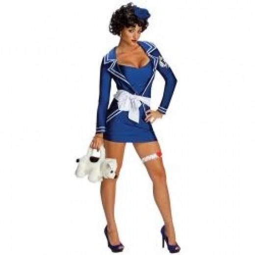 Sexy Betty Boop Sailor Costume
