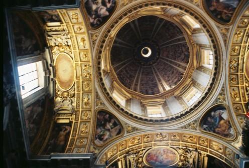 Dome inside inside St. Mary Major.