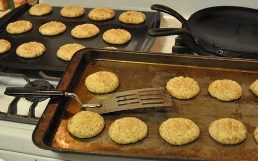 how to make snickerdoodles from scratch