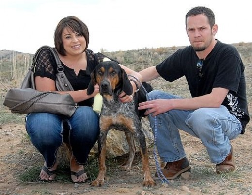 Jed adopted Amy and John this weekend. We think he made an amazing choice.