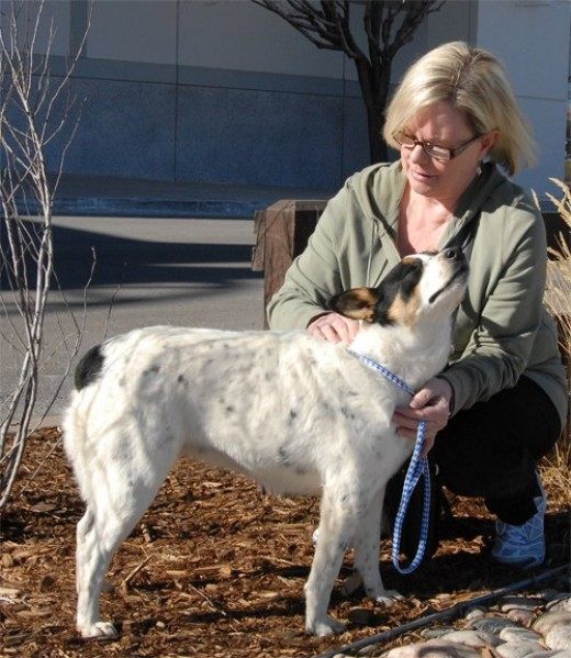 Misty is expressing adoption day bliss thanks to Kathy.