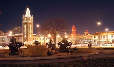 Plaza Lights by Brian Hillegas