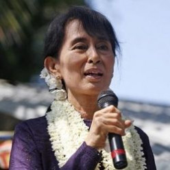 Aung San Suu Kyi Nobel Peace Prize Winner, Burma's Democracy Leader