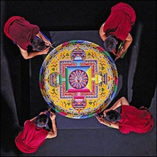 Tibetan Mandala Sand Painting - www.buffalo.edu