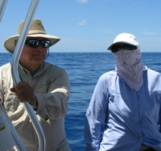 Where Protective Clothing when Fishing Offshore